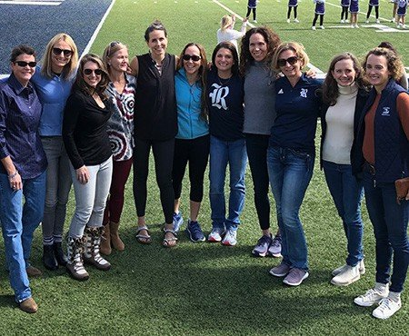 1994 Women's Cross-Country Team, Rice U, including COO Katy Spink