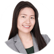 Consultant Wendy Liang, smiling